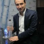 Tommaso Cavalli at the launch of Cavalli vodka