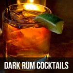 Dark Rum cocktails