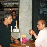 Ashwin Deo, CEO of Turning Point Wines (on left)