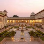 Courtyard of the Rambagh Palace