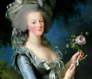 Marie Antoinette - It's rumoured that the Champagne saucer was made using a mould of her left breast
