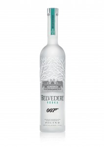 MI6 bottle, with the MI6 HQ replacing the famous Belvedere Palace and Green Ink denoting secrecy!