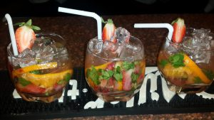 Seasonal Fruit & Mint Julep