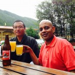 Drinking Red Panda in Thimphu