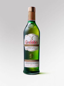 Glenfiddich - iconic triangular bottle