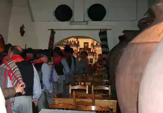 Talhas in a local tavern